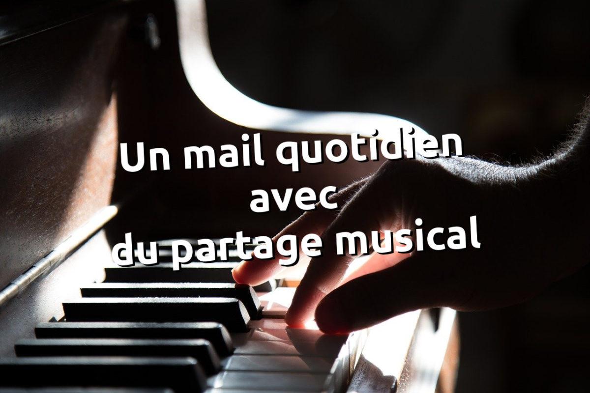 Un mail quotidien pour apprendre, évoluer dans le domaine de la musique - tithouan pour le-musicien.com